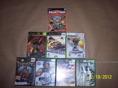 1 PC game & 7 XBOX games