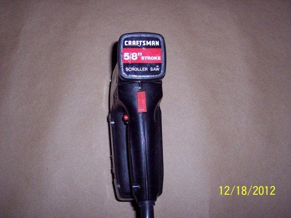 Craftsman stroke scroller saw