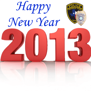 Happy New Year from your Aransas Pass Police Department and Emergency Services