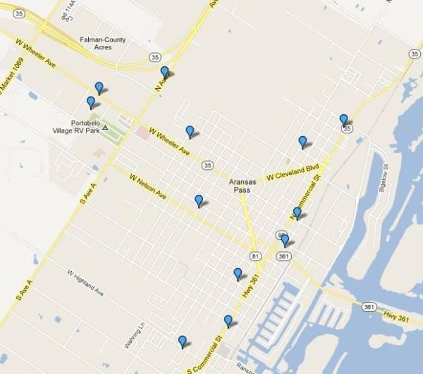 Burglary Locations 2013