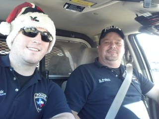 Ofc. Lusk and Sgt. Anders