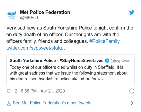 On Duty South Yorkshire Police motorcycle officer dies in crash 2
