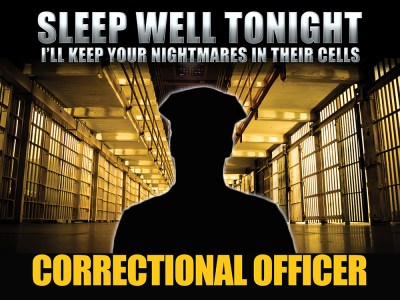 corrections correctional officer police life