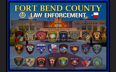 Fort Bend County Texas Sheriff's Office Custom Posters