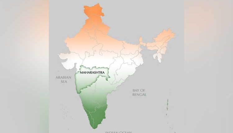 india in maharashtara map