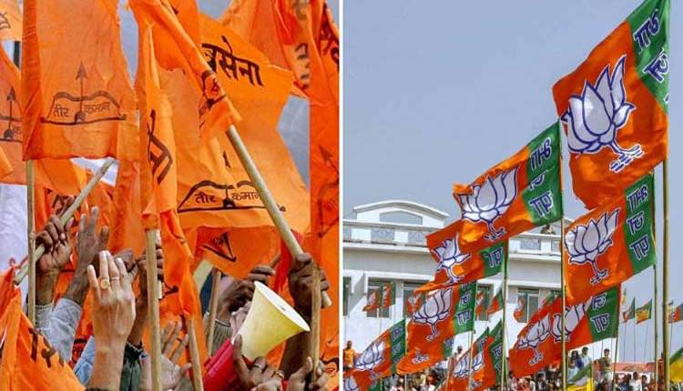 Shivsena-and-BJP-Flags