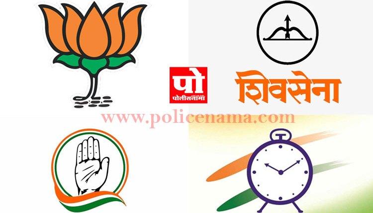 BJP Shivsena NCP Congress