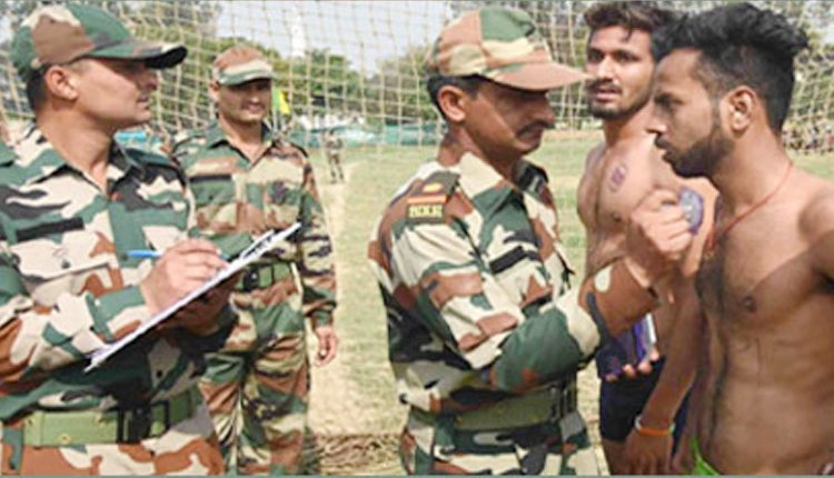 indian army recruitment 2021 ncc entry in short service selection