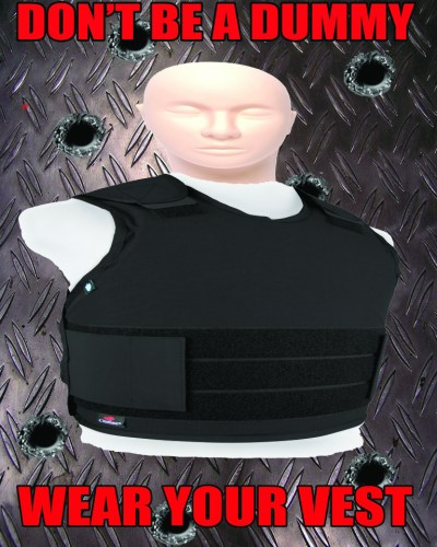 Wear Your vest Police poster