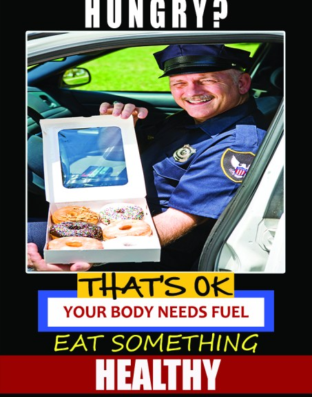 Healthy Eating for Police poster