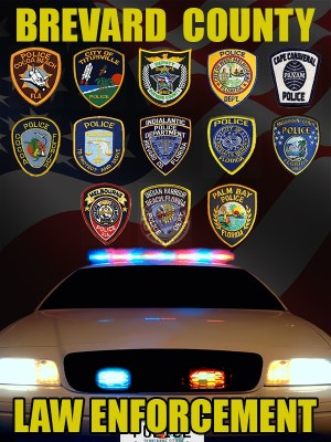 Brevard County Florida Law Enforcement Poster