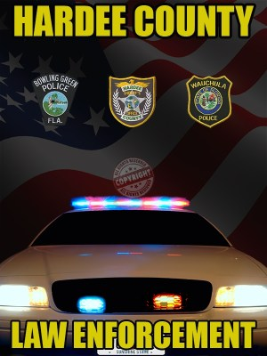 Hardee County Florida Law Enforcement Poster