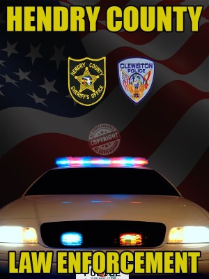 Hendry County Florida Law Enforcement Poster