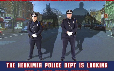 Herkimer New York Police Department Recruitment Posters
