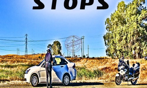 TRAFFIC STOPS POSTER