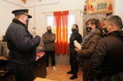 POLICIALES: Recorrida y reuniones de trabajo en el Alto Valle