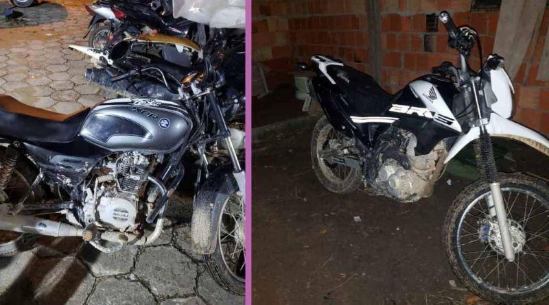 Assaltante é preso com moto roubada