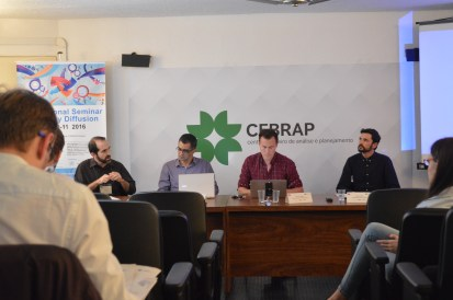 Second presentation of papers with Sergio Montero, Ryan O. Centner and Gabriel Silvestre