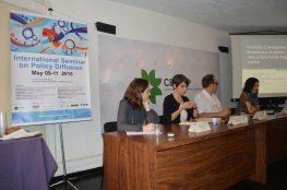 Second Presentation of papers with Cristiane Kerches, Cecilia Osorio Gonnet and Maria Clara Oliveira