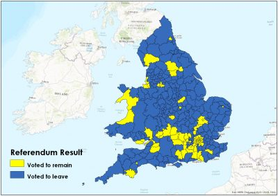 Map Of Uk Local Authorities.Brexit What S Next For Esf And Local Authorities Policy In Practice
