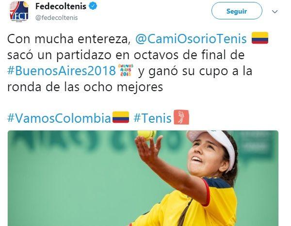Blanqueado el quinto día de Colombia en Juegos Olímpicos en Argentina