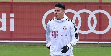 James Rodríguez Bayern Madrid
