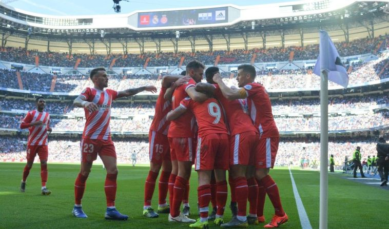 Granell Girona triunfo ante el Real Madrid