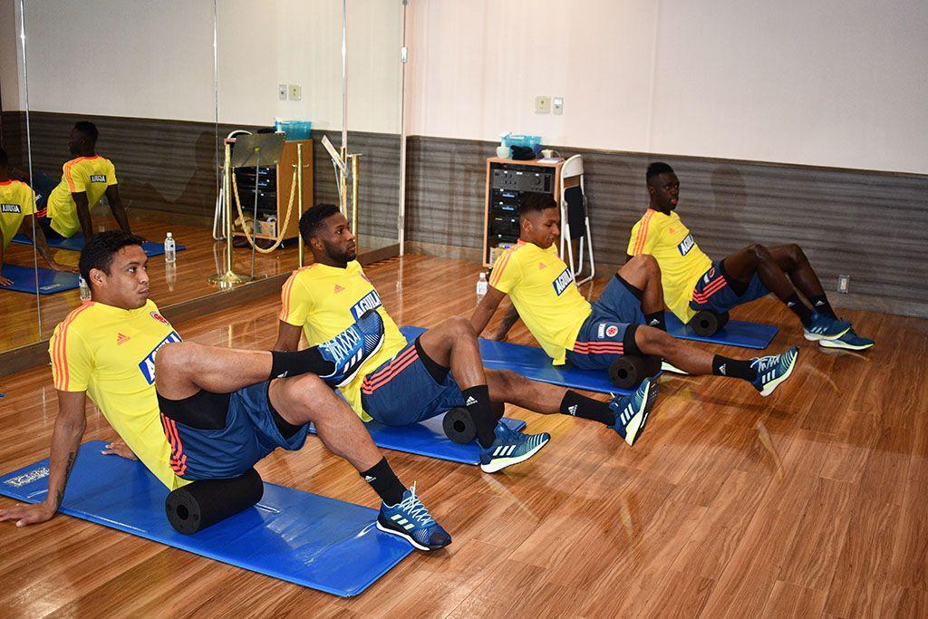 La Selección Colombia y sus 11 jugadores