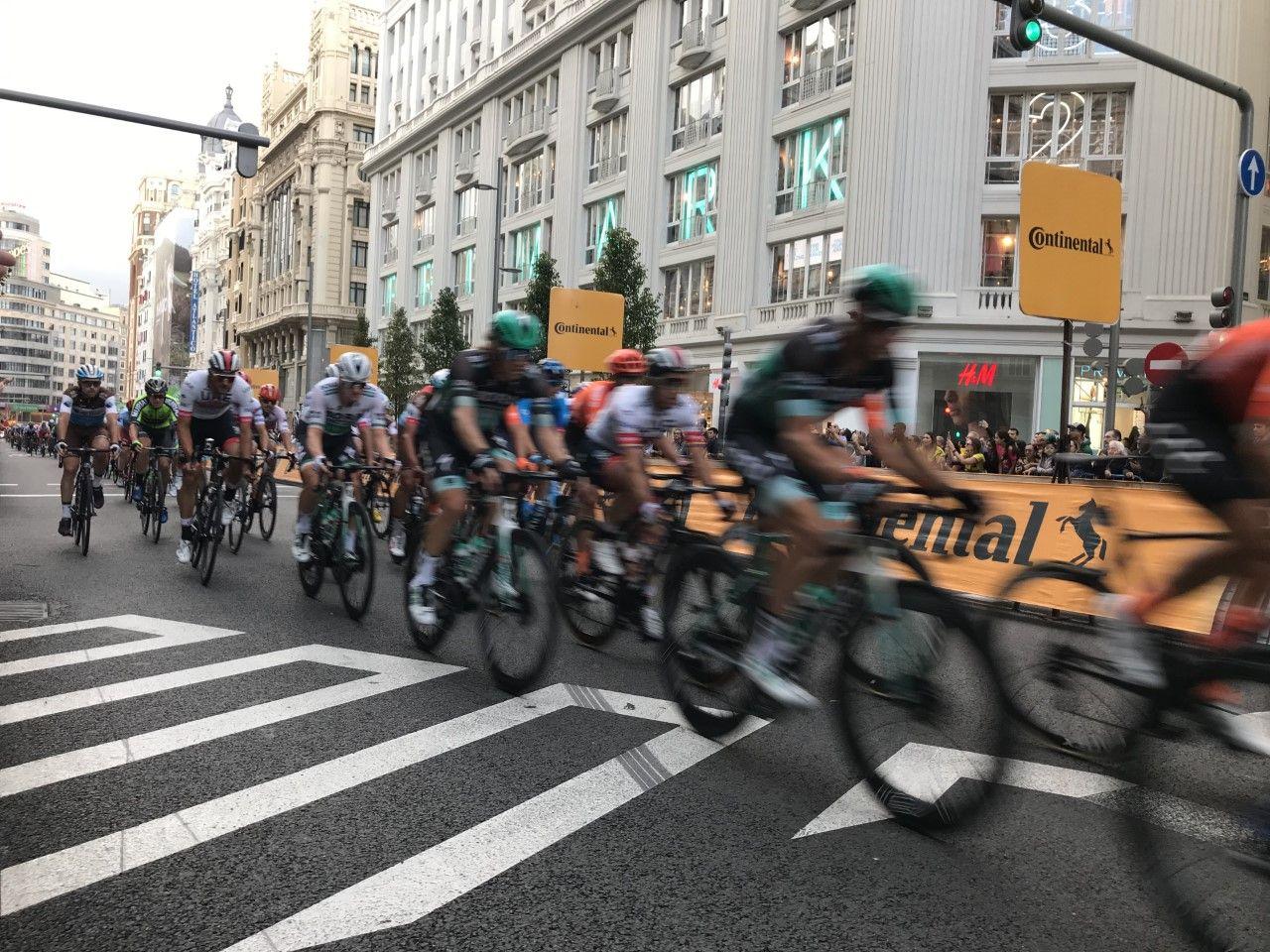El final de veintiún etapas de la Vuelta España 2019