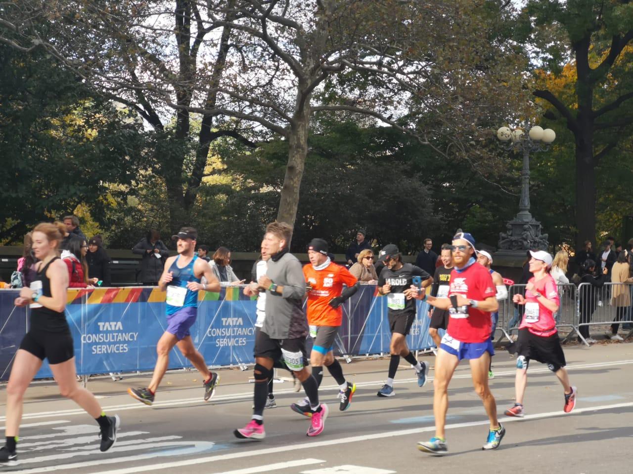 La Maratón de Nueva York, la Gran Manzana de Fiesta