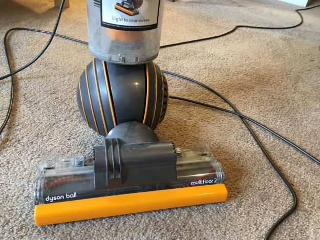 Hoover/vacuum cleaner, Dyson ball - bottom part with carpet-brush.