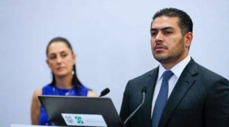Lanzan nueva amenaza al Secretario de Seguridad de la Ciudad de México