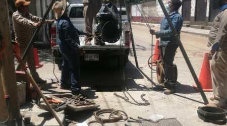 Continúan acciones de mantenimiento en infraestructura hidráulica: SAPAO