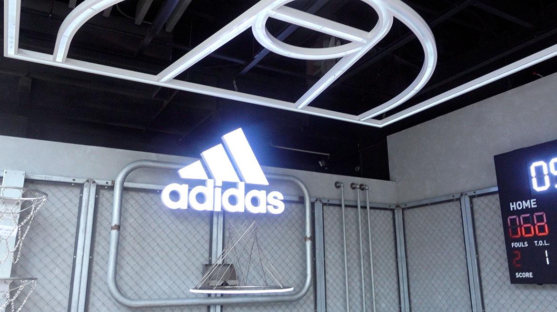 Adidas綠園道門市