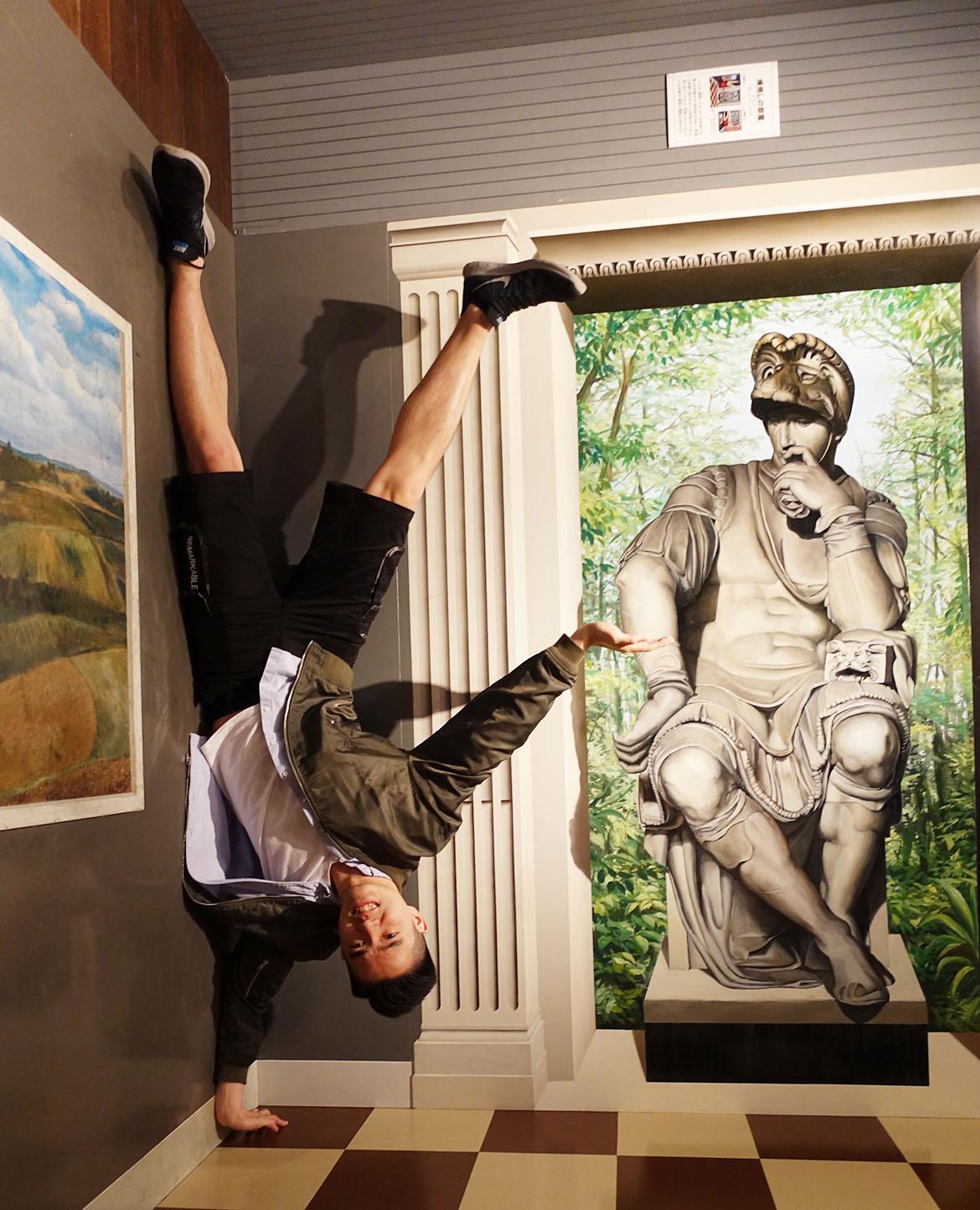 kobe trick art museum