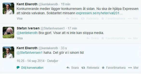 Sverigedemokraterna och media