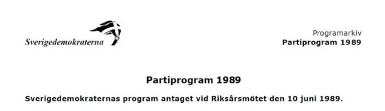 partiprogram
