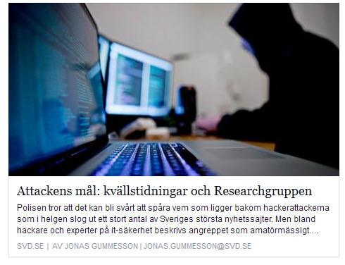 Vad har Aftonbladet, Expressen och Researchgruppen gemensamt?