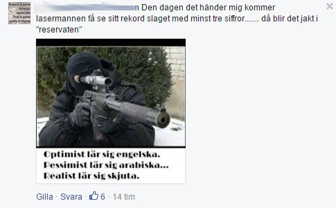 Hyckleriet i Soldiers of Odin