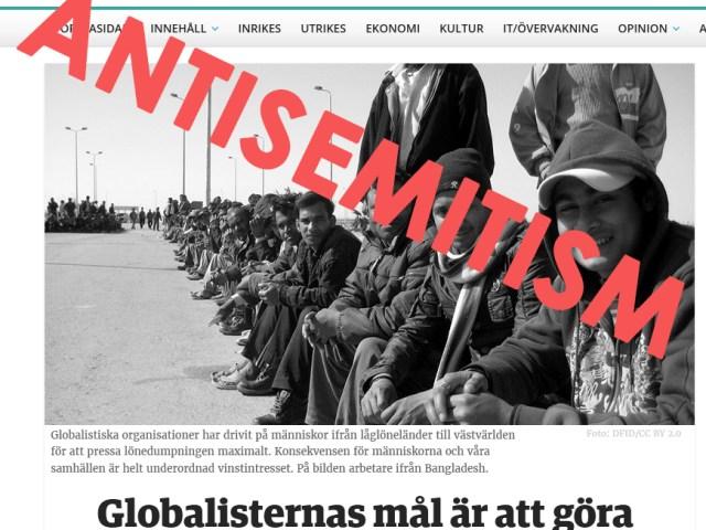 Nya dagbladet och antisemitismen