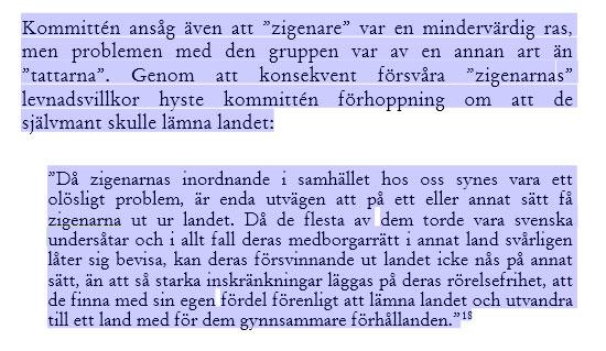 Sverigedemokraterna och 20-talets vidriga invandrarpolitik