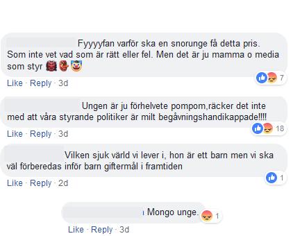 Hatet mot Greta Thunberg hos Fria tider