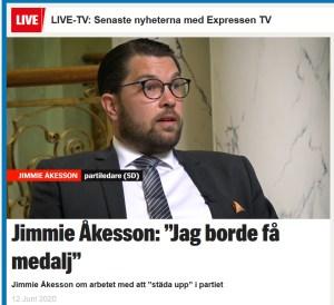 medalj Åkesson