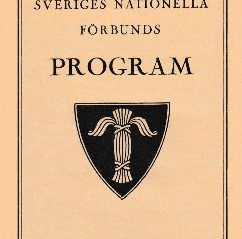 Sveriges nationella förbund