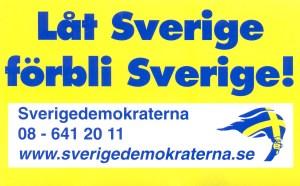 """samtal med en """"Sverigevän"""""""