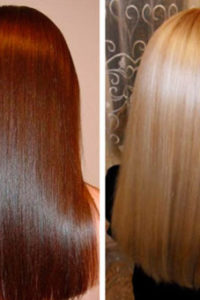 экранирование волос ослабит выпадение