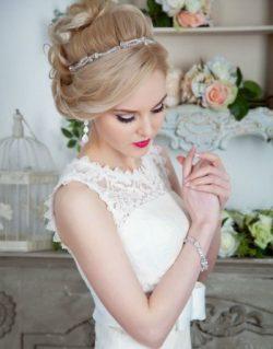 Макияж на свадьбу классический