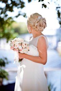Прическа свадебная в стиле Винтаж