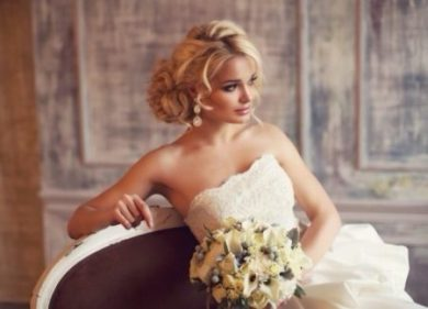 Стильный свадебный визажист