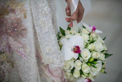 Букет невесты для свадьбы в бордовом Москва